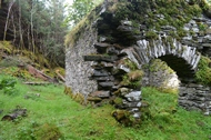 building recording of mill at knapdale