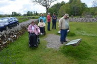 group visit to kilmartin glen