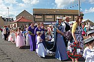 2015 Herring Queen procession