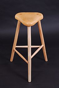 Bicycle seat stool