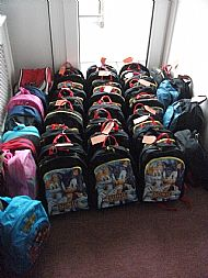 Mary's Meals Backpacks
