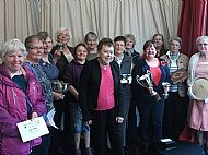 prizewinners at the Show