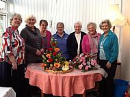 Nov 2014 Christmas Flowers meeting