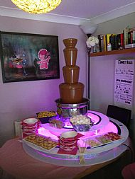 Our Chocolate fountain