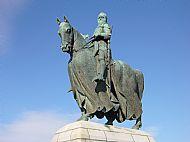Robert The Bruce Statue at Bannockburn