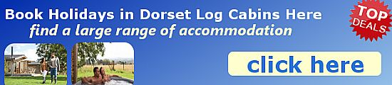find and book log cabins in dorset