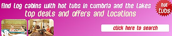 click here for log cabins with hot tubs in cumbria and the lake district