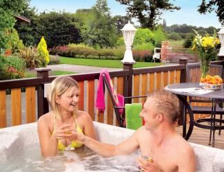 search for log cabins with hot tubs in the vale of york