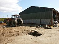 Site of new purpose built salad packing facility and bottling plant