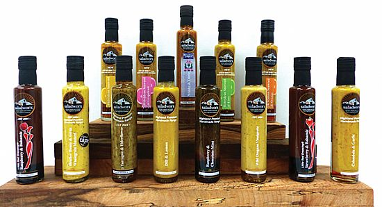 saladworx range of dressings