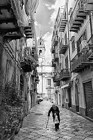 Beggars in Savona