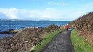 'Down the coastal path' Marrion Grant