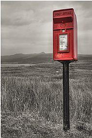 'Simply red post  box' David McHutchison