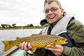 loch eye boat fishing chirs gregory, brown trout
