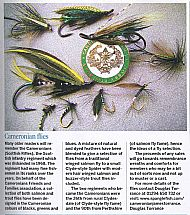 Cameronian Trout and Salmon Flies.