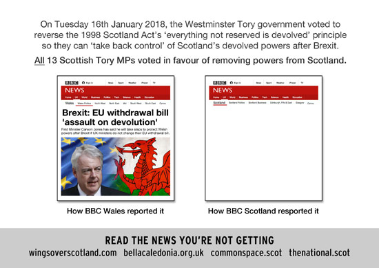 how the bbc failed to report the biggest constitutional crisis in scotland