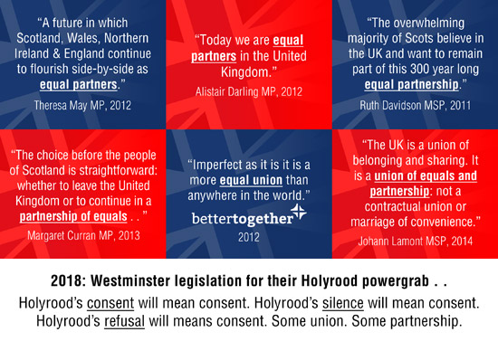 this union of equals and partners is a uk lie