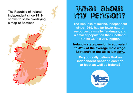don't think indy scotland can do at least as well as ireland on pensions?