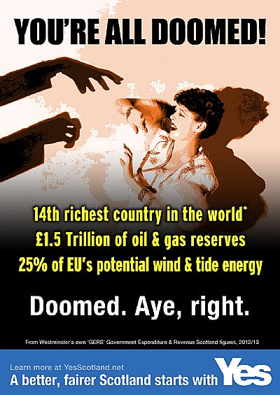 you're all doomed! with �1.5 trillion oil & gas, 25% of eu renewables potential? aye, right.
