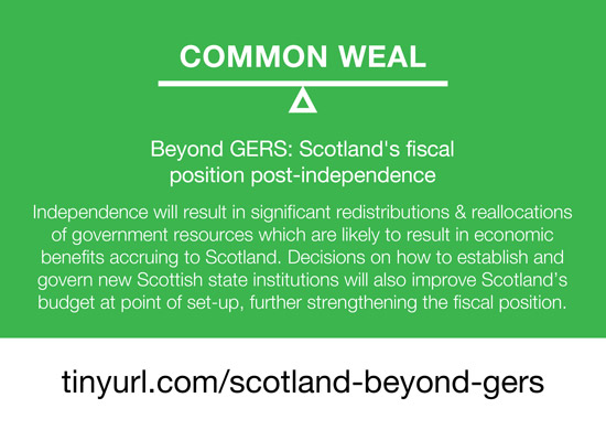 beyond gers: scotland's fiscal position post-independence - common weal