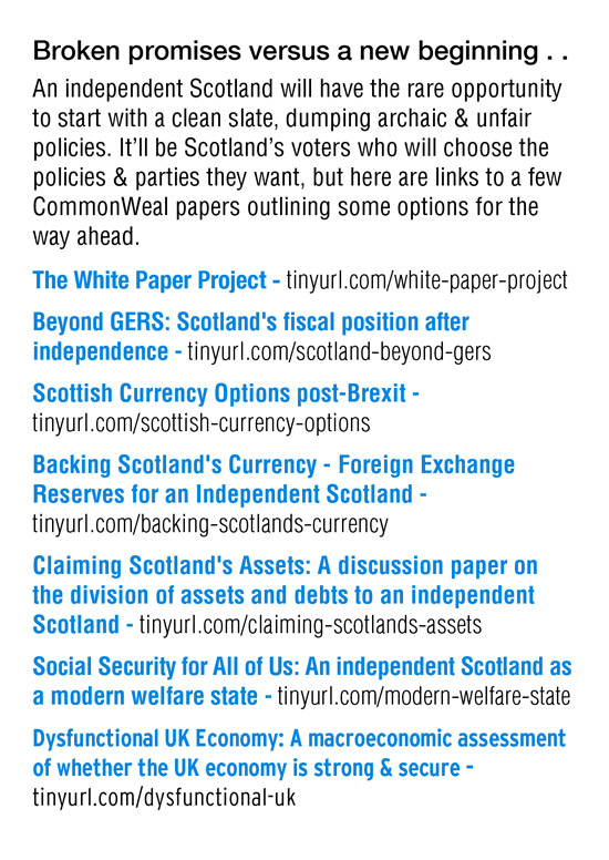 common weal - various white papers