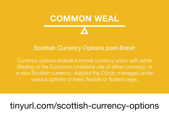 scottish currency options post-brexit  - common weal