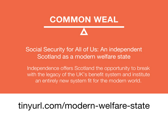 social security for all of us: an independent scotland as a modern welfare state - common weal