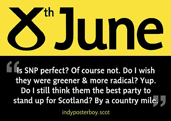 is the snp the best party to stand up for scotland? by a country mile.