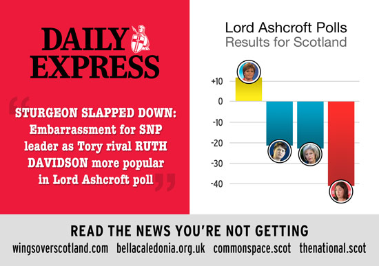 sturgeon vs davidson approval rating - not quite what the media tell you