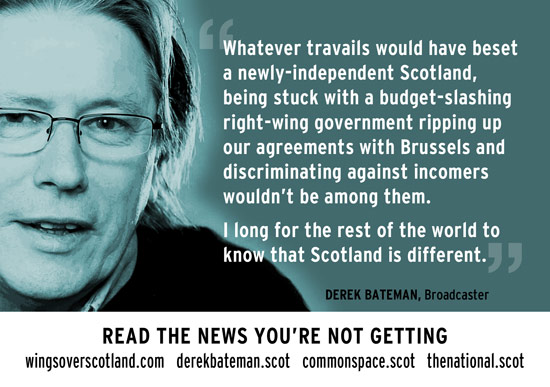 tell the rest of the world - scotland is different