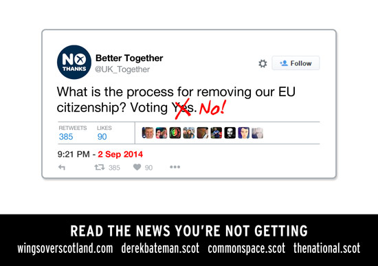 bettertogether: what is the process for removing our eu citizenship? voting yes.