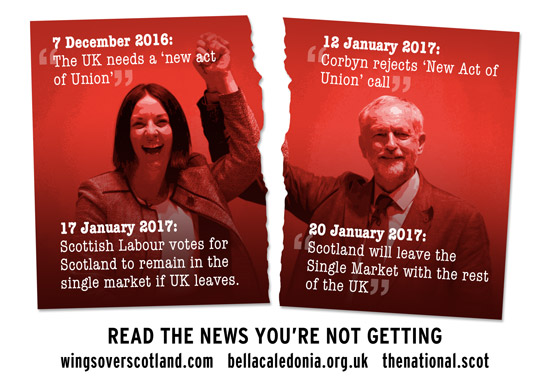 dugdale vs corby. the union is broken - time to split