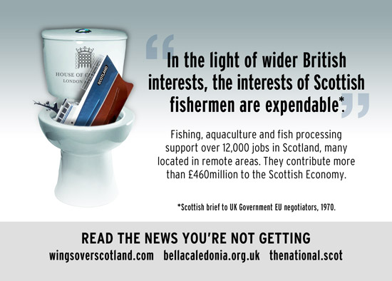 in light of wider british interests, the interests of scottish fishermen are expendable