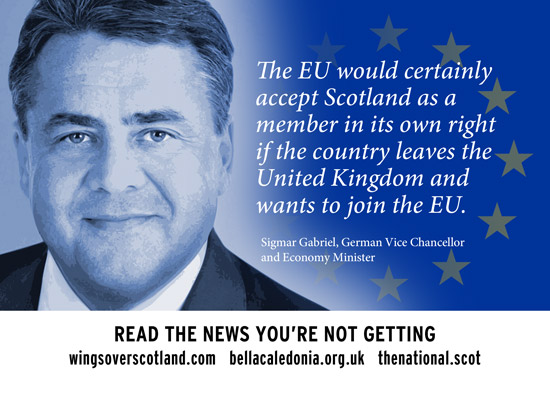 the eu would certainly accept scotland as a member in its own right if the country leaves the uk