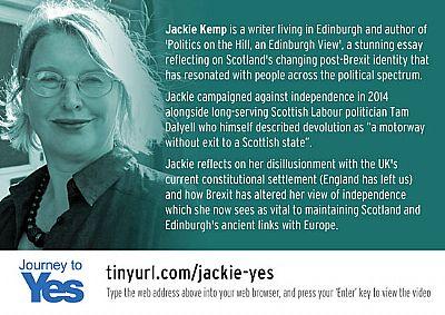 jackie kemp - journey to yes