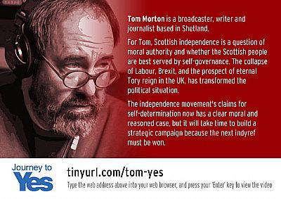 tom morton - journey to yes