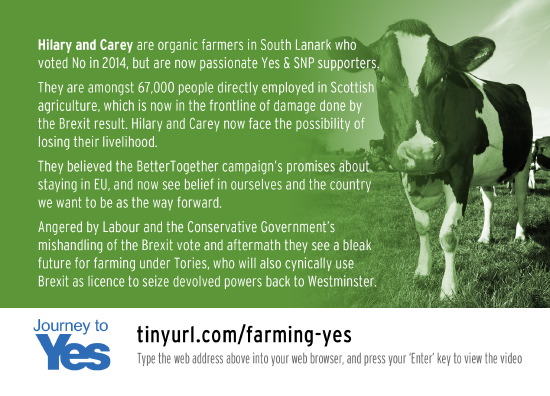 hilary and carey, farmers - the no campaign, brexit, and their journey to yes
