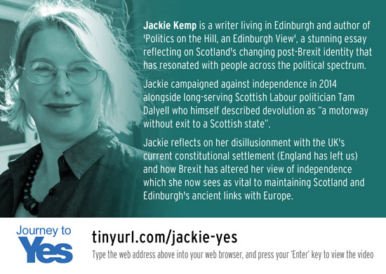 journey to yes - jackie kemp