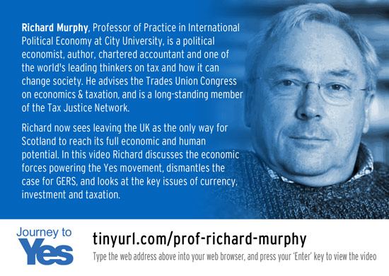 journey to yes - richard murphy