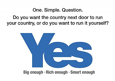 do you want the country next door running your country - white