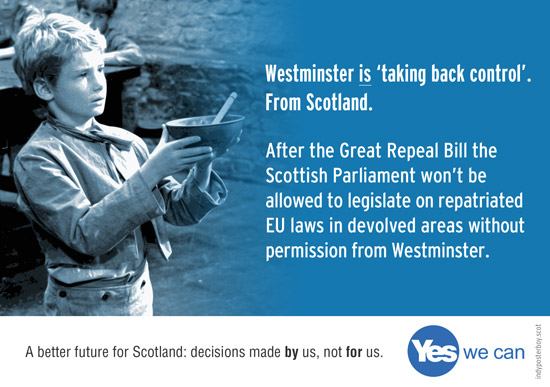 using the great repeal bill westminster plans to steal devolved powers from scotland