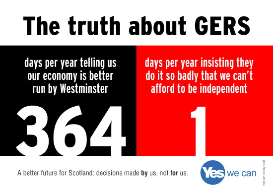 gers: 364 days of 'you can't survive without uk'. 1 day of admitting they do it badly