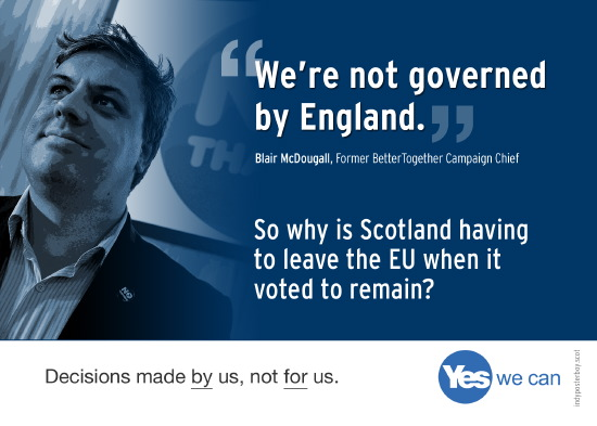 if scotland isn't governed by england, why is remain-voting scotland having to leave the eu?