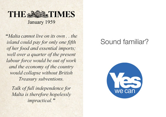 too wee? too poor? where have we heard that before?