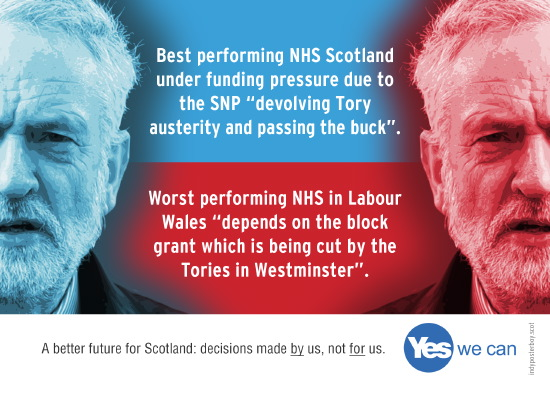 corbyn: austerity cuts in scotland the fault of snp, but the fault of westminster tories in wales