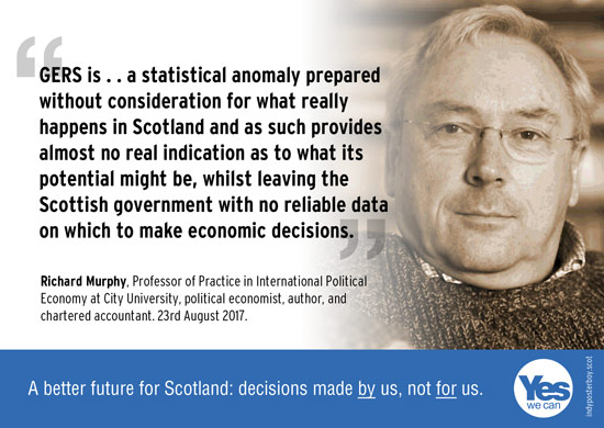 richard murphy questions the reliability of gers