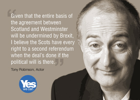 tony robinson: the agreement between westminster & scotland is undermined by brexit