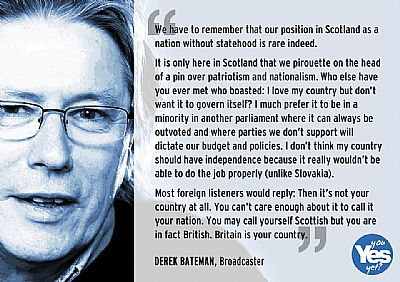 derek bateman - scotland as a nation without statehood is rare indeed
