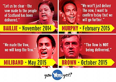 the vow. delivered. the vow plus. the vow even more. the vow not delivered. thanks labour.