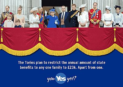 tories plan to cap amount of state benefit for families - except for one